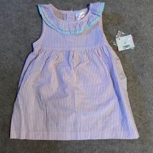 NWT Pink white and blue dress